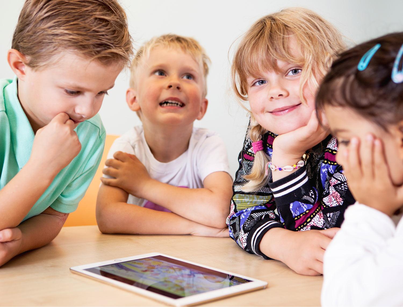 Språkutveckling i förskolan för barn i förskolan